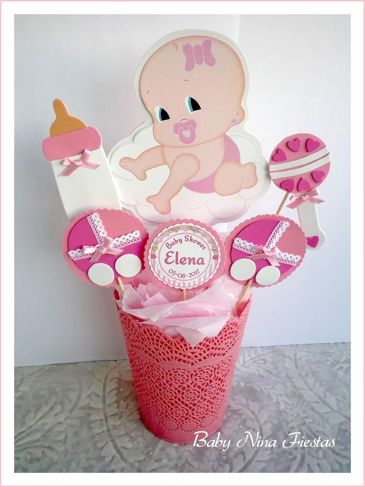 Baby nina fiestas baby shower elena - Baby shower de nina ...