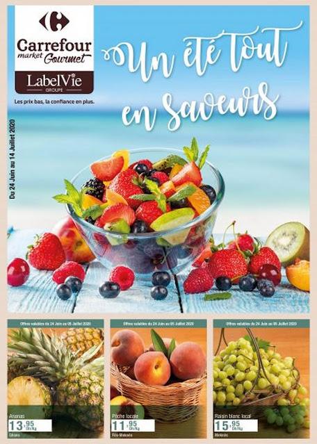 catalogue carrefour market gourmet juin juillet 2020