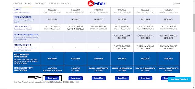 jio fiber price