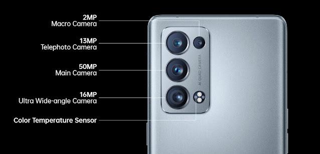 إعداد الكاميرا لـ Oppo Reno6 Pro (إصدار Snapdragon 870)إعداد الكاميرا لـ Oppo Reno6 Pro (إصدار Snapdragon 870)