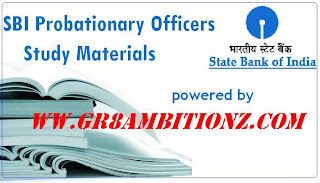 SBI PO Exam 2013 Preparation Materials