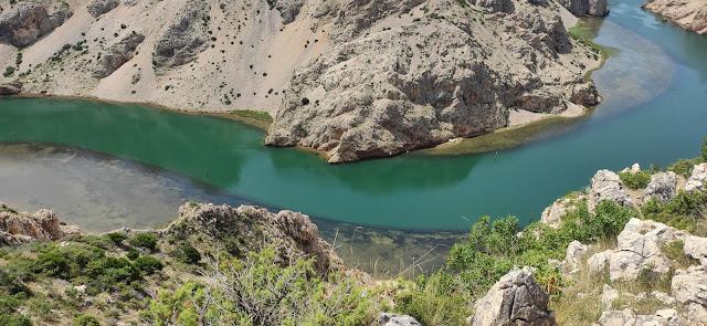 co zobaczyć w Chorwacji, atrakcje, natura, kanion rzeki