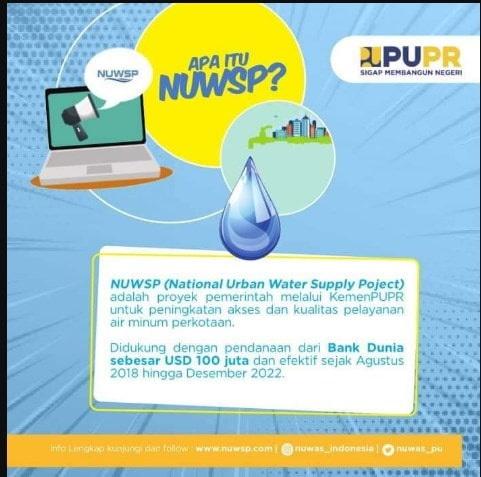 Info Lowongan Kerja di Program Air Minum PUPR Info Lowongan Kerja di Program Air Minum PUPR, penempatan di Kab/Kota di Indonesia Mei 2020