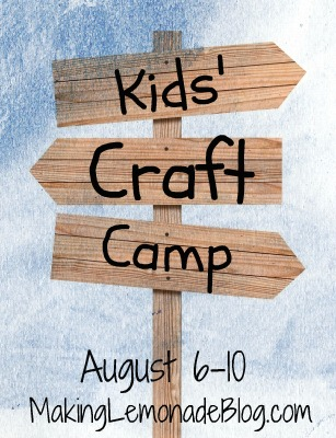Tons of Kids Craft Ideas and Kids Activities (Kids Craft Camp)