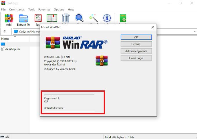 WinRAR 5.80 (64bit; 32bit)
