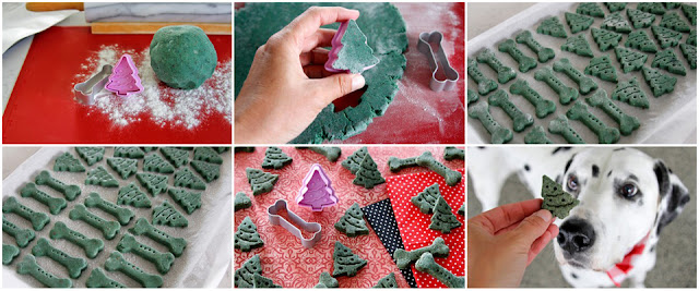 Step-by-step how to make homemade Christmas dog treats