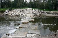 ישראל בתמונות: גן לאומי נחל רובין - שפך נחל שורק