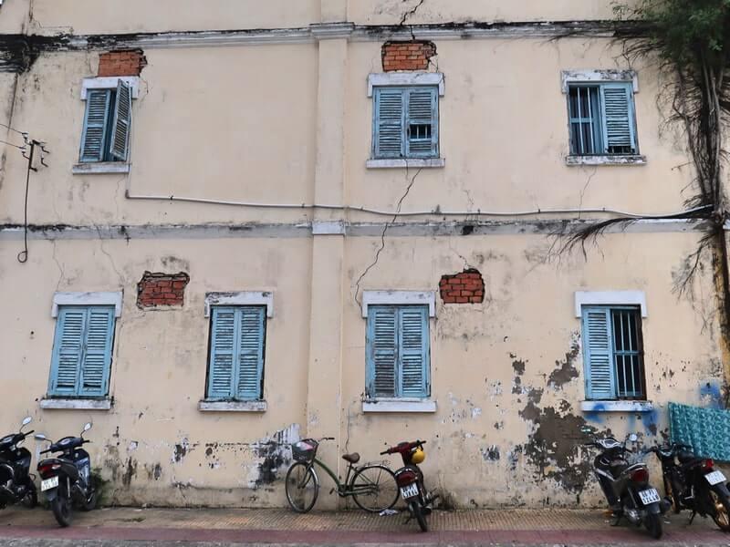 Nhà cổ góc đường Đồ Chiểu và Nguyễn Huệ