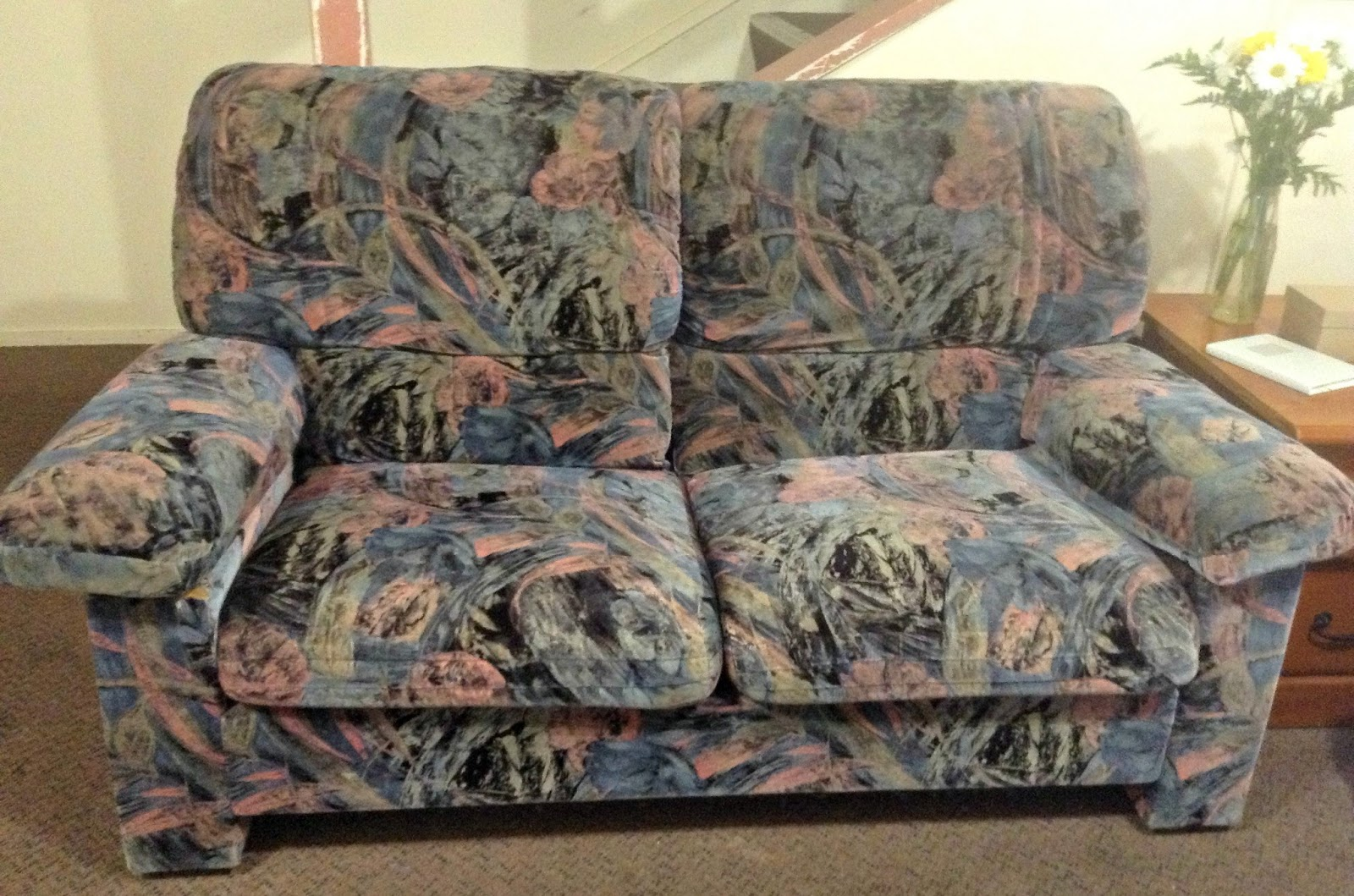 Salute to Cute: No-sew couch cover