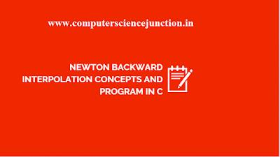 newton interpolation program in c