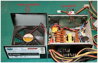 Pengertian dan bagian-bagian Power supply