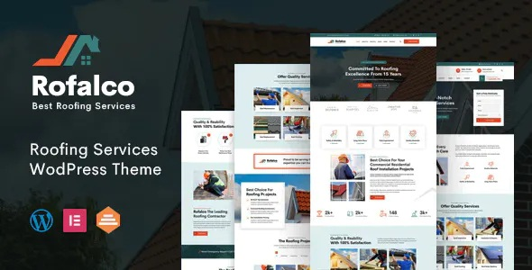 Best Roofing Services WordPress Theme