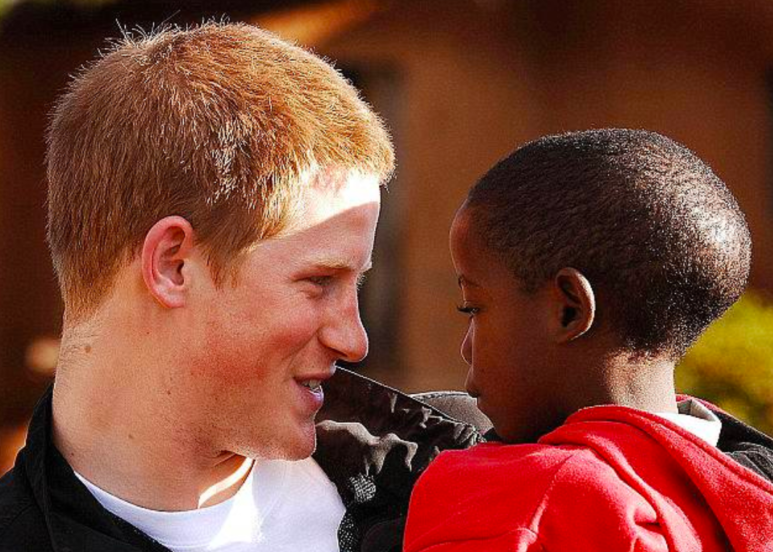 Prince Harry Brings to Wedding the African Orphan He Befriended as a Kid