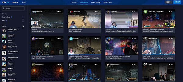 plataforma-streaming-Xbox-Mixer