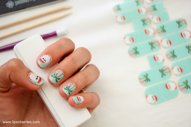 tips for jamberry nail wraps
