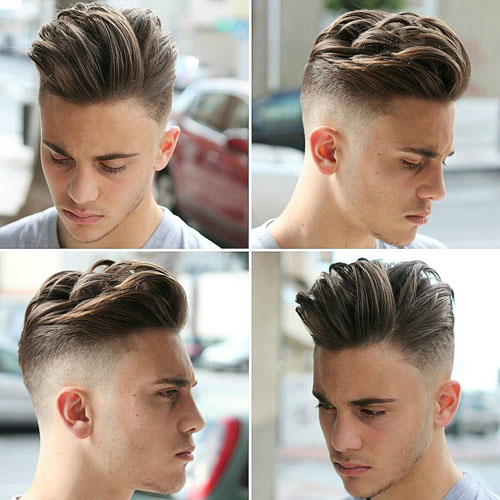 The Most Amazing along with Interesting men's haircuts for oblong faces regarding The Hairstyle