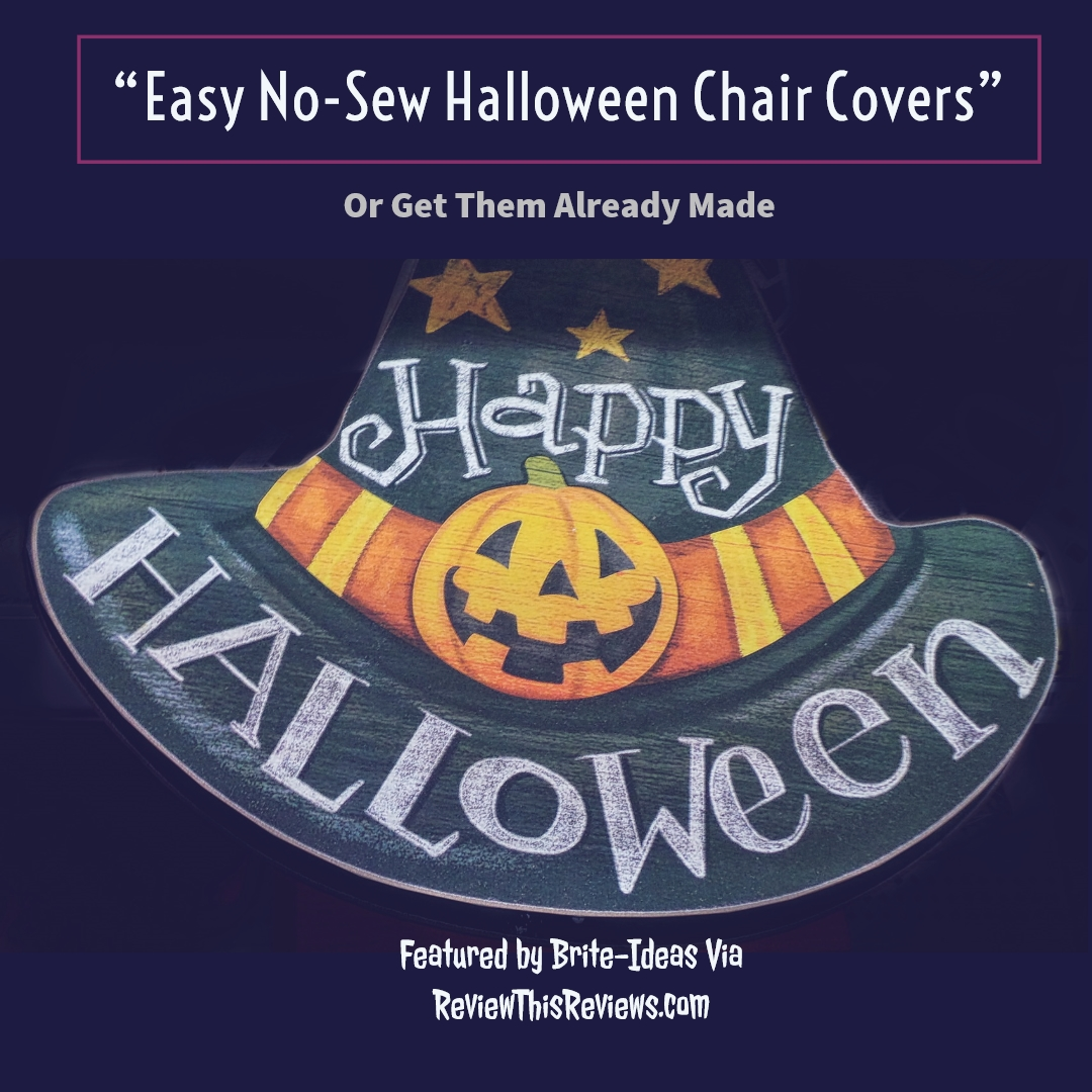 Miraculous Easy No Sew Halloween Chair Covers Caraccident5 Cool Chair Designs And Ideas Caraccident5Info