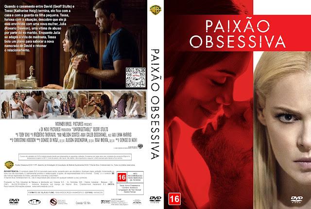 Capa DVD Paixão Obsessiva [Custom]