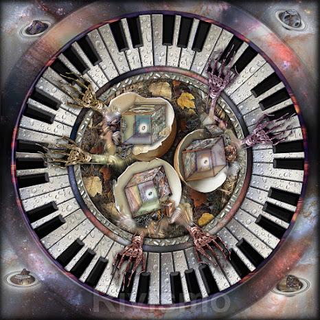 """Instrumental nest with piano for six hands / Nido instrumental con piano para seis manos""  / Ramón Rivas / SPAIN"