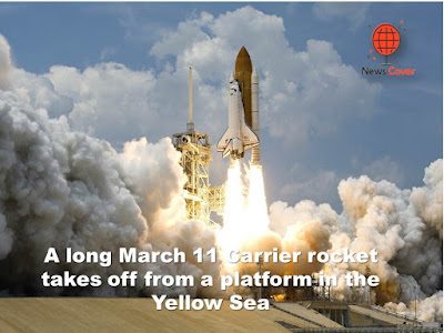 News cover, world news, news cover world news, World, China Launches Rocket from Sea, China, english news, indian news,