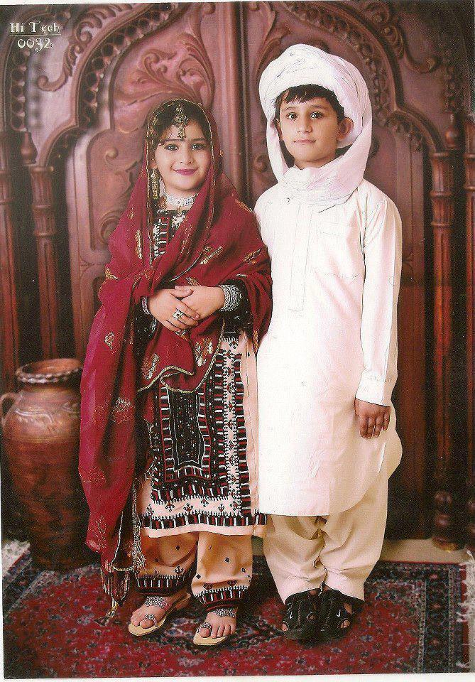 Pakistani cultural dresses