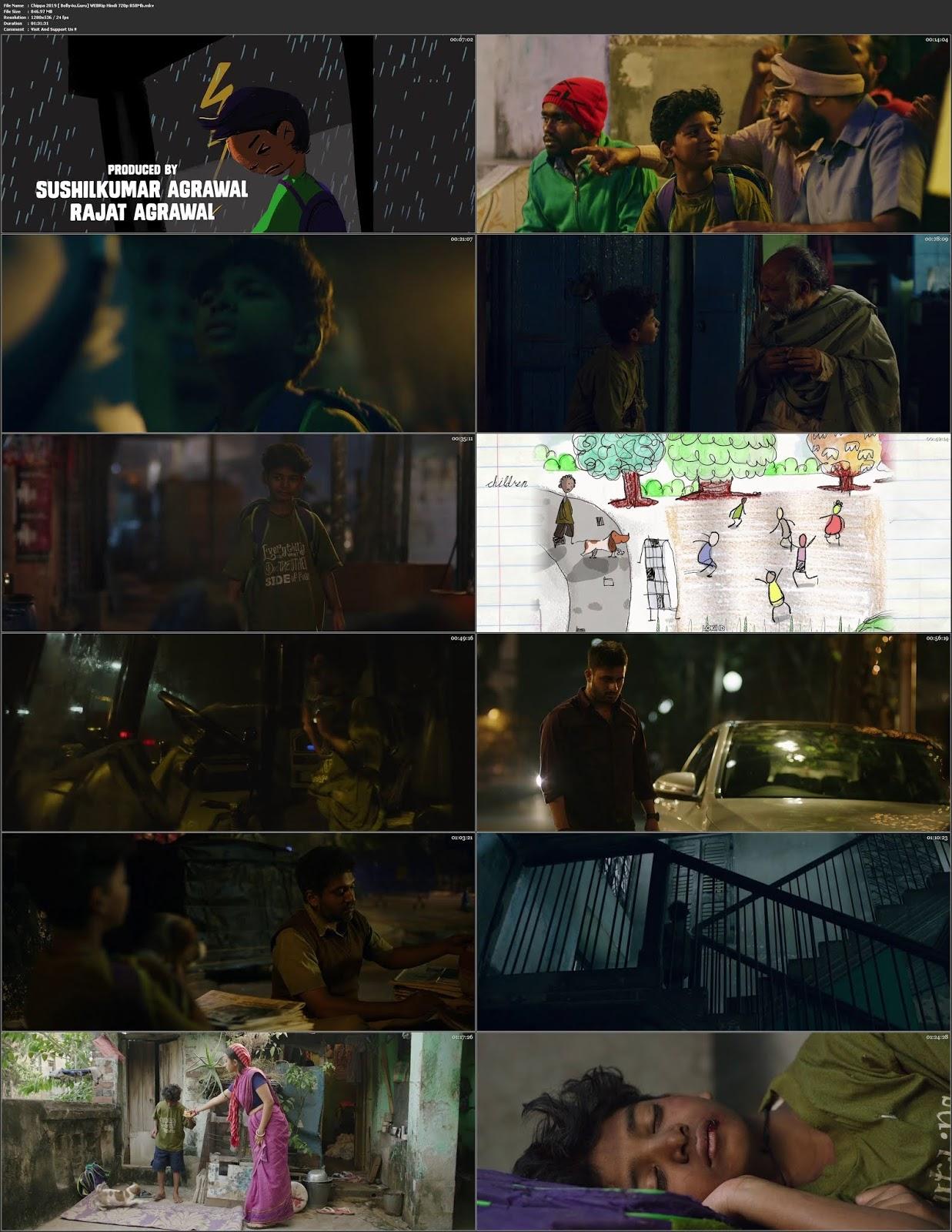 Chippa 2019 WEBRip 850Mb Full Hindi Movie Download 720p