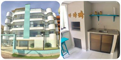 apartamento para locação em itapema com suite