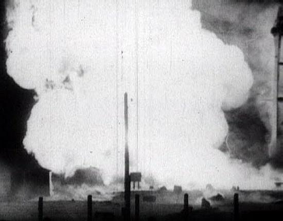 Il prototipo del missile R-16 esplode sulla rampa: un'immagine della catastrofe di Nedelin.