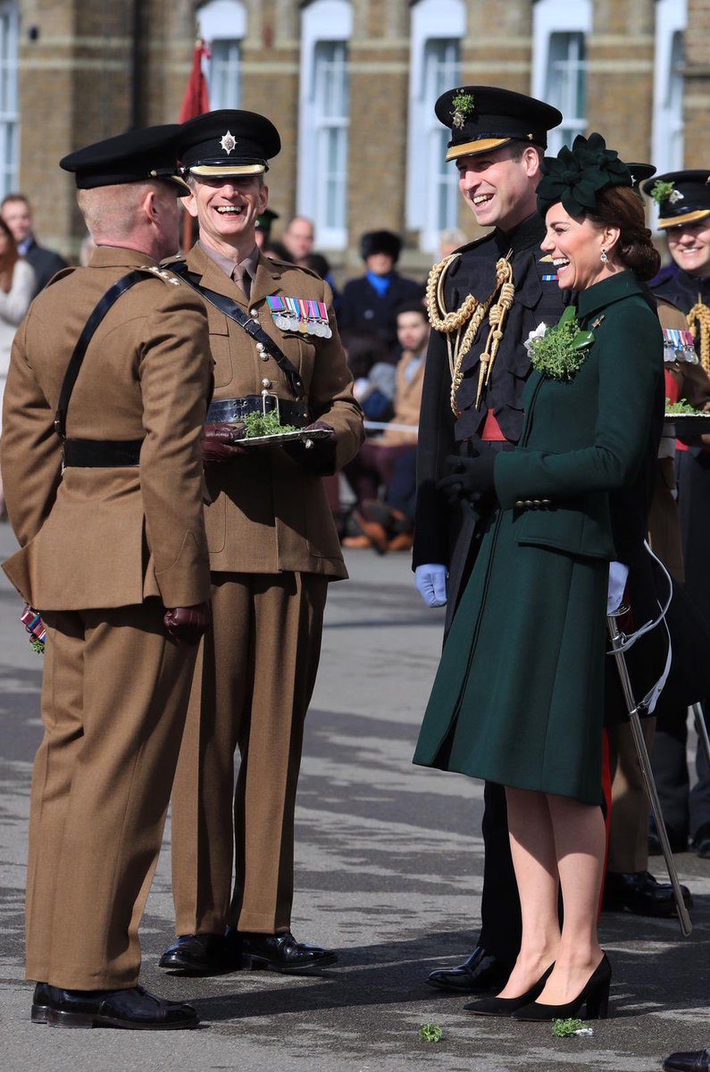 The Duke and Duchess of Cambridge's last attendance was in 2019. The parade was cancelled in 2020 and 2021 due to the ongoing pandemic.