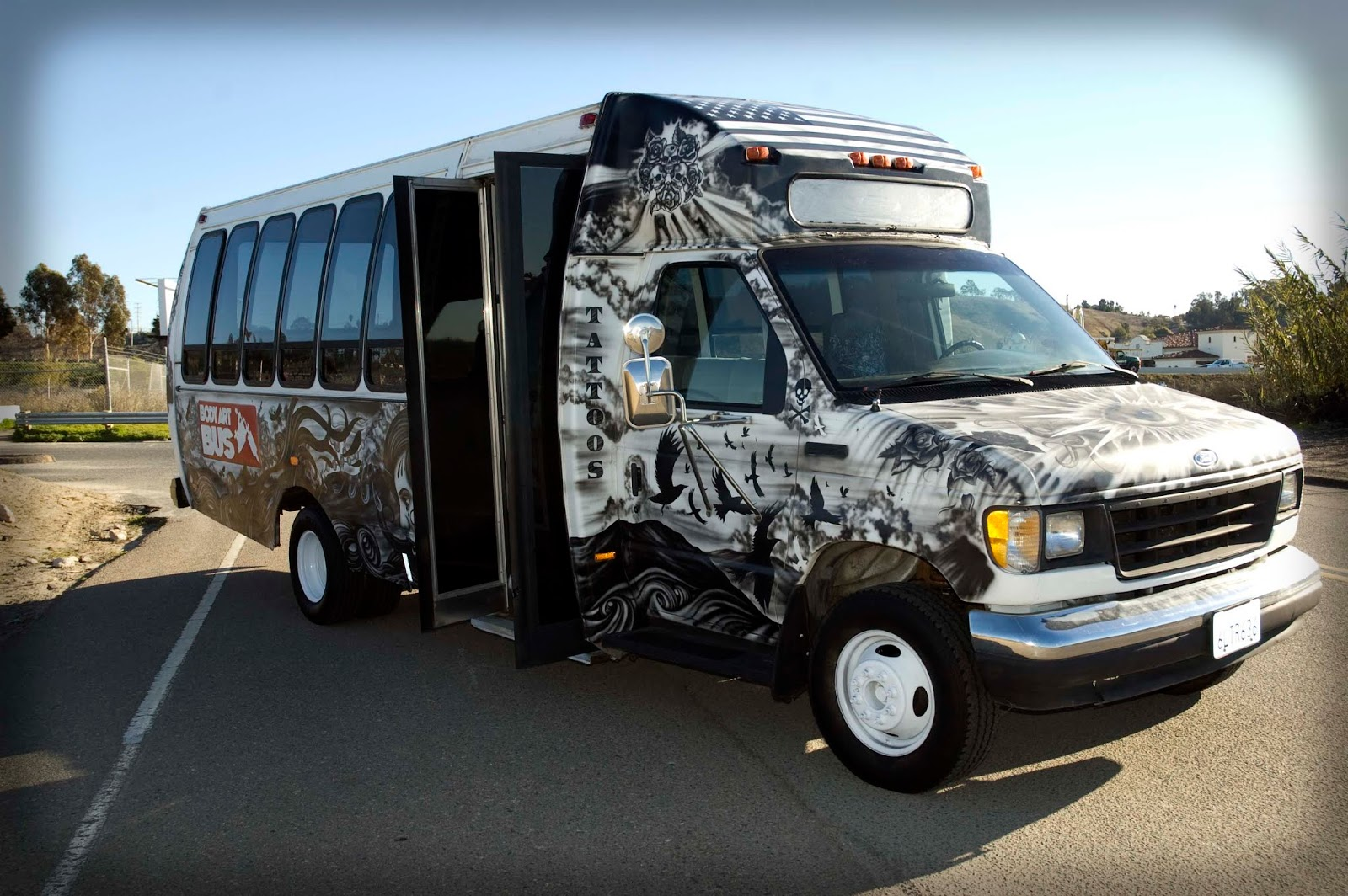Body Art Bus