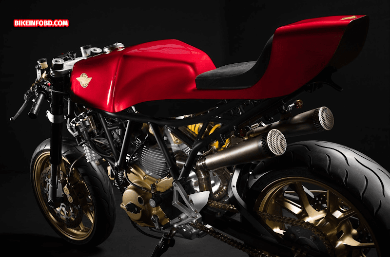 Ducati SuperSport 750 i.e Café Racer HD Images, Specs, Top Speed, Parts & History