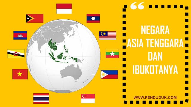 Negara Asia Tenggara dan Ibukotanya