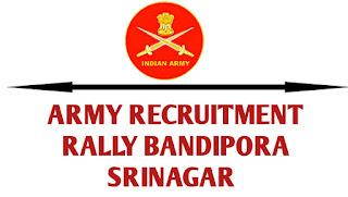 Army Recruitment Rally Bandipora Srinagar