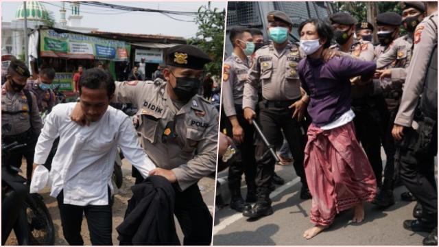5 Simpatisan Habib Rizieq Ditangkap, Polisi: Mereka Provokator