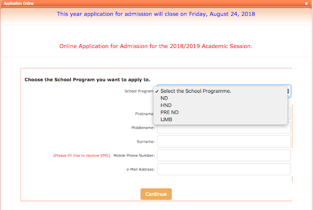 Federal Polytechnic Offa Admission Form 2018