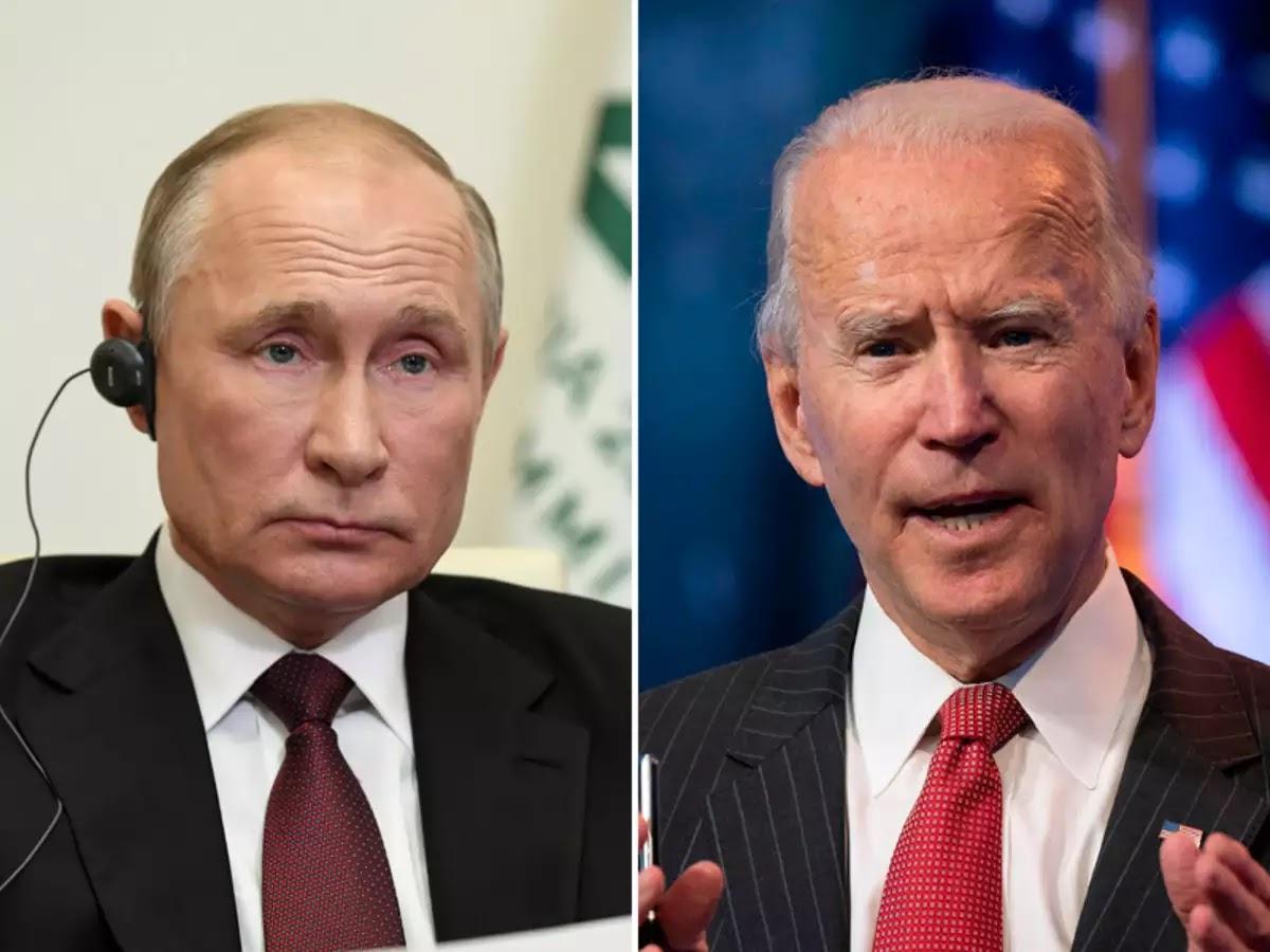 """Panas! Disebut Pembunuh, Putin Langsung Tantang Biden """"Debat Online"""" Secara Live"""