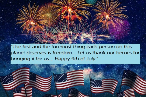 Happy 4th of July Facebook Messages