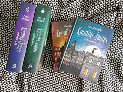 """Recenzja książek z serii """"Kroniki Jaaru""""- Adam Faber"""