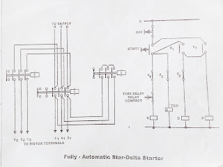 Star Delta Starter control diagram working principle Electrical fact
