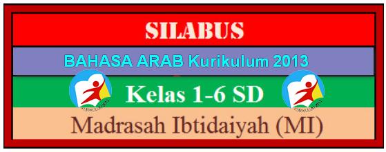 Silabus Mapel Bahasa Arab MI Kurikulum 2013