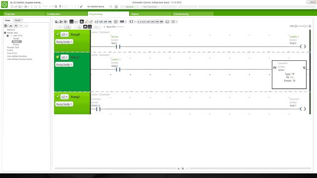 Memahami Function Block Timer PLC M221