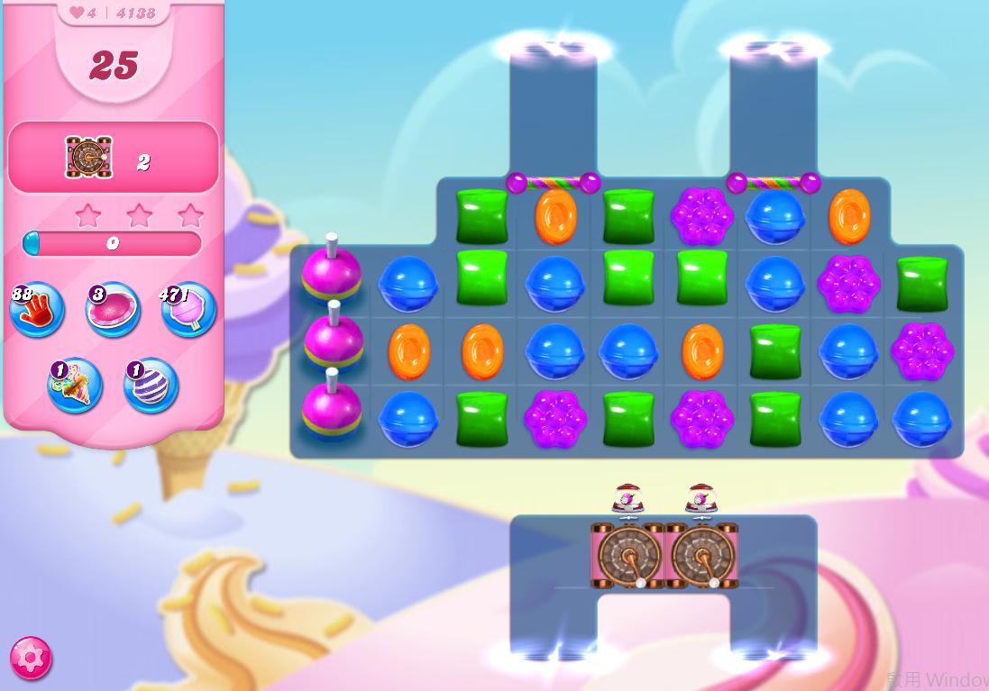 Candy Crush Saga level 4138