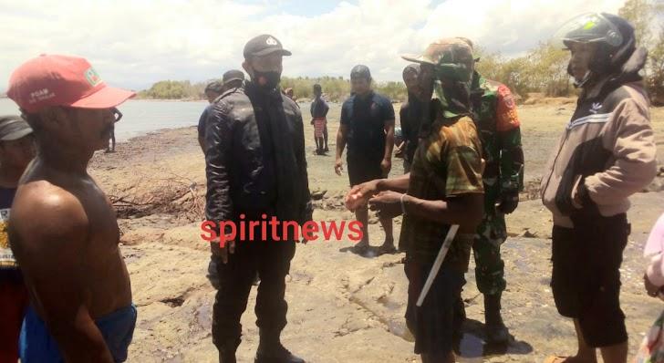 Warga Desa Pattoppakang Yang Di Duga Tenggelam Masih Dilakukan Pencarian Oleh Team SAR