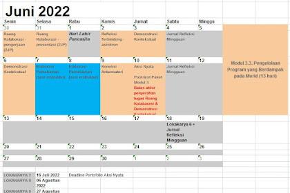 Jadwal Pendidikan Guru Peggerak Angkatan 4
