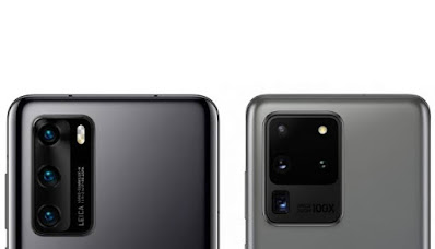 samsung s20 ultra Vs huawei p40 pro plus : perbandingan kamera