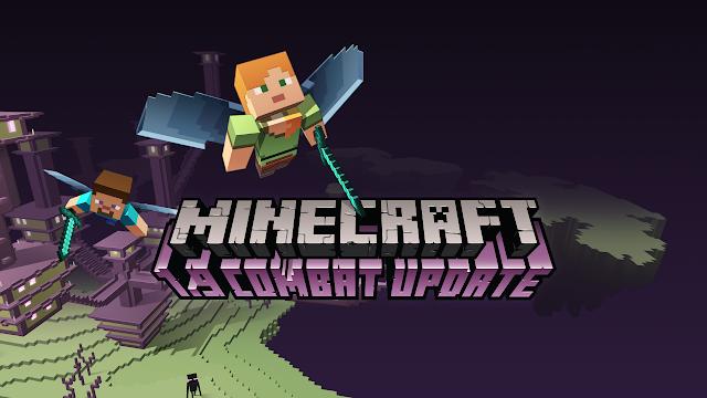 actualizacion minecraft combat update