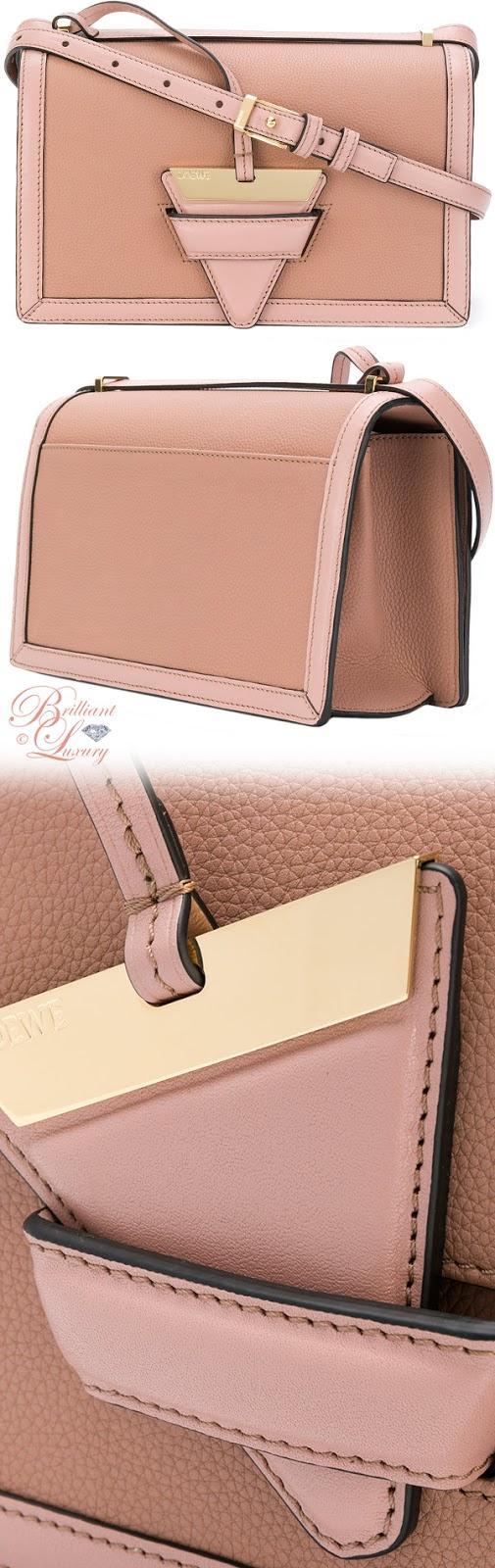 Brilliant Luxury ♦ Loewe Barcelona bag