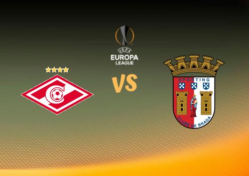 Spartak Moscú vs Sporting Braga  Resumen