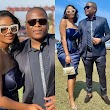 Londie London and her baby daddy attend a wedding in matching outfits.