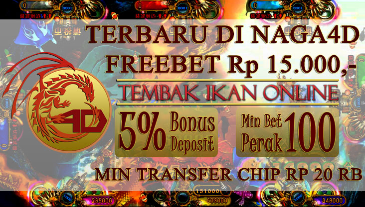 SUPER SPECIAL PROMO TEMBAK IKAN NAGA4D 2016